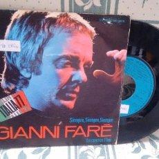 Discos de vinilo: SINGLE ( VINILO) DE GIANNI FARE AÑOS 70. Lote 198957427