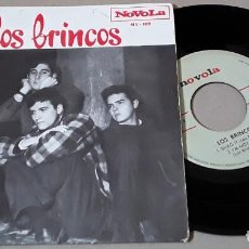 Discos de vinilo: EP- LOS BRINCOS - DANCE THE PULGA / I CAN'T MAKE IT / SHAG IT / I'M NOT BAD - LOS BRINCOS . Lote 198969107