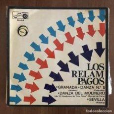 Discos de vinilo: RELÁMPAGOS - GRANADA - 7'' EP ZAFIRO 1968. Lote 198973327