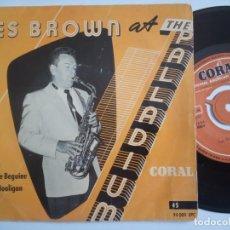 Discos de vinilo: LES BROWN - CARAVAN - EP 1955 - CORAL. Lote 198980825