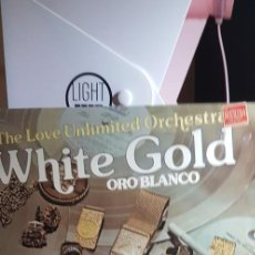 Discos de vinilo: BARRY WHITE & THE LOVE UNLIMITED ORCHESTRA 'WHITE GOLD' 1974. Lote 198992215
