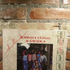 Discos de vinilo: JOHNNY CLEGG AND SAVUKA THIRD WORLD CHILD LP. Lote 199003318