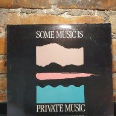 Discos de vinilo: SOME MUSIC IS PRIVATE MUSIC VARIOS LP. Lote 199004083