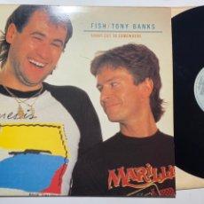 Discos de vinilo: MAXI SINGLE 12'' TONY BANKS/FISH SHORTCUT TO NOWHERE EDICIÓN ESPAÑOLA DE 1986. Lote 199033385