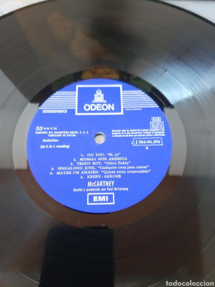 Discos de vinilo: PAUL McCARTNEY- McCARTNEY- ODEON-1970. ESPAÑA. (THE BEATLES) - Foto 4 - 199035013