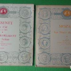 Discos de vinilo: DISCO VINILO - DOS LP. MOZART - MASSANET (VER FOTOS). Lote 199035771