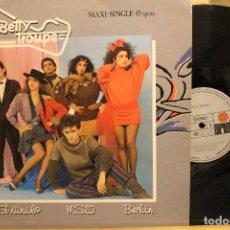 Discos de vinilo: BETTY TROUPE / MAXI SINGLE 1983 ARIOLA F600546 / CANCIONES VINILO MS20 Y BERLIN. Lote 199041593