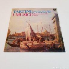 Discos de vinilo: TARTINI I MUSICI - SALVATORE ACCARDO ( VIOLIN ). Lote 199044072