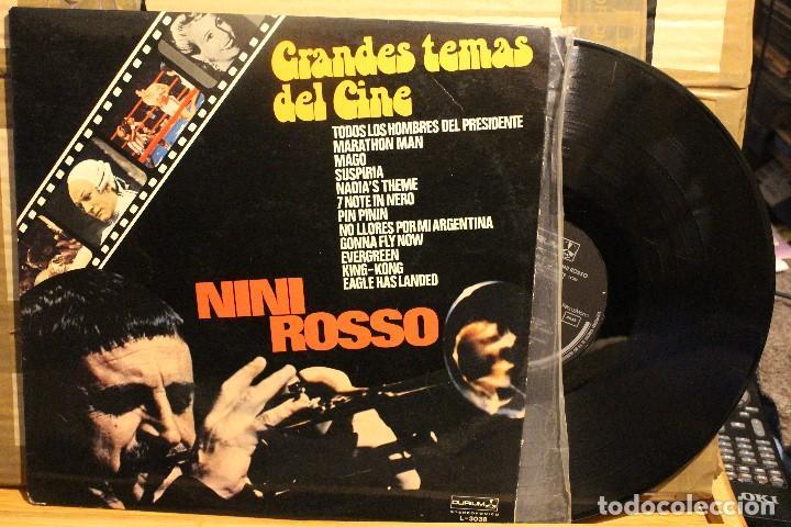 NINI ROSSO GRANDES TEMAS DEL CINE / 1977 OURIUM / KING KOPNG MARATHON MAN EVERGREEN (Música - Discos - LP Vinilo - Bandas Sonoras y Música de Actores )