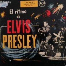 Discos de vinilo: EL RITMO DE ELVIS PRESLEY. Lote 199045882