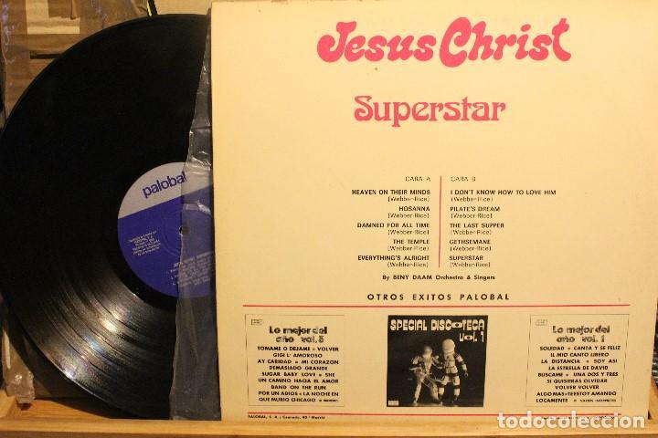 Discos de vinilo: JESUS CHRIST SUPERSTAR / BENY DAAM ORQUESTA 1974 PALOBAL / - Foto 2 - 199047566