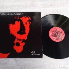 Discos de vinilo: SOPA DE CABRA LP LA RODA 1990. Lote 199051266