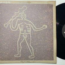 Discos de vinilo: MAXI SINGLE 12'' THE CHESTERFIELDS FOOL IS A MAN EDICIÓN INGLESA DE 1989. Lote 199053707