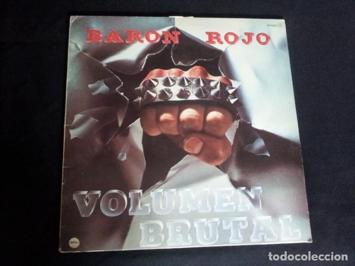 Discos de vinilo: BARON ROJO - LOTE DE 3 LP - CHAPA DISCOS, LEER DESCRIPCION - Foto 2 - 199062010