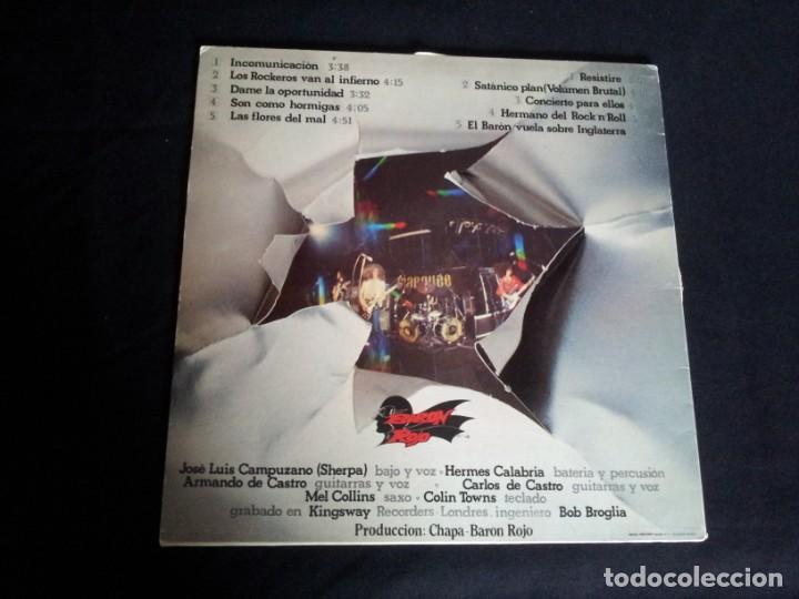 Discos de vinilo: BARON ROJO - LOTE DE 3 LP - CHAPA DISCOS, LEER DESCRIPCION - Foto 3 - 199062010