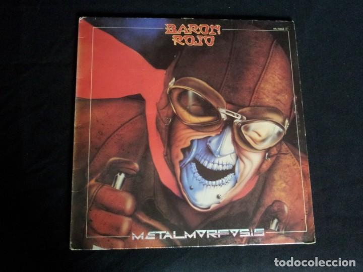 Discos de vinilo: BARON ROJO - LOTE DE 3 LP - CHAPA DISCOS, LEER DESCRIPCION - Foto 8 - 199062010