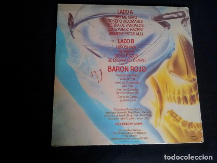 Discos de vinilo: BARON ROJO - LOTE DE 3 LP - CHAPA DISCOS, LEER DESCRIPCION - Foto 9 - 199062010