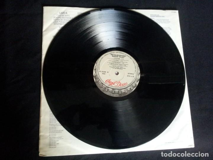 Discos de vinilo: BARON ROJO - LOTE DE 3 LP - CHAPA DISCOS, LEER DESCRIPCION - Foto 13 - 199062010