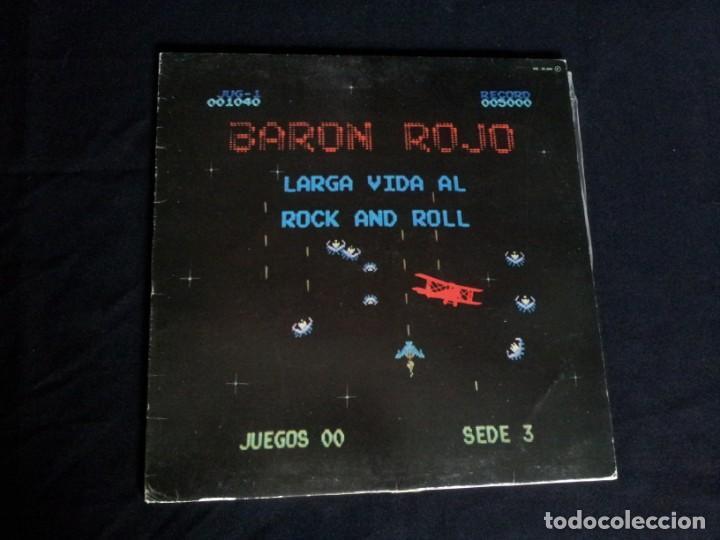Discos de vinilo: BARON ROJO - LOTE DE 3 LP - CHAPA DISCOS, LEER DESCRIPCION - Foto 14 - 199062010