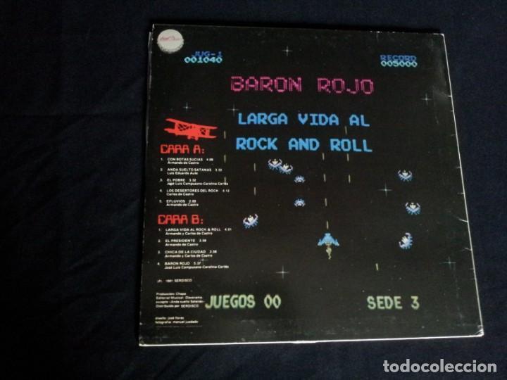 Discos de vinilo: BARON ROJO - LOTE DE 3 LP - CHAPA DISCOS, LEER DESCRIPCION - Foto 15 - 199062010