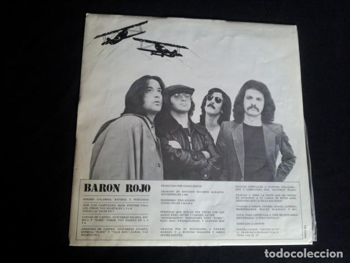 Discos de vinilo: BARON ROJO - LOTE DE 3 LP - CHAPA DISCOS, LEER DESCRIPCION - Foto 16 - 199062010