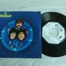 Discos de vinil: TRIANA SINGLE UNA NOCHE DE AMOR DESESPERADA 1981. Lote 199062767