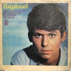 Discos de vinilo: RAPHAEL EP 45 RPM ESTUVE ENAMORADO. Lote 199065268