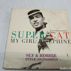 Discos de vinilo: SUPER CAT FEATURING JACK RADICS – MY GIRL JOSEPHINE. Lote 199065571