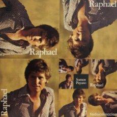 Discos de vinilo: RAPHAEL SINGLE 45 RPM SOMOS. Lote 199065631