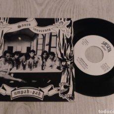 Discos de vinilo: UMPAH-PAH SINGLE SANT INNOCENTS 1992 ADRIÀ PUNTÍ. Lote 222627106