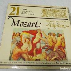 Discos de vinilo: MOZART* - BERNHARD PAUMGARTNER, CAMERATA ACADEMICA DEL MOZARTEUM DE SALZBURG- SINFONIA Nº41 K 551 . Lote 199067028
