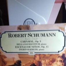 Discos de vinilo: ROBERT SCHUMANN. LOS GRANDES COMPOSITORES SALVAT Nº18 1981. Lote 199070845