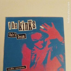 Discos de vinilo: THE KINKS ONLY A DREAM / SOMEBODY STOLE MY CAR ( 1993 COLUMBIA UK ) PHOBIA RAY DAVIES. Lote 199079561