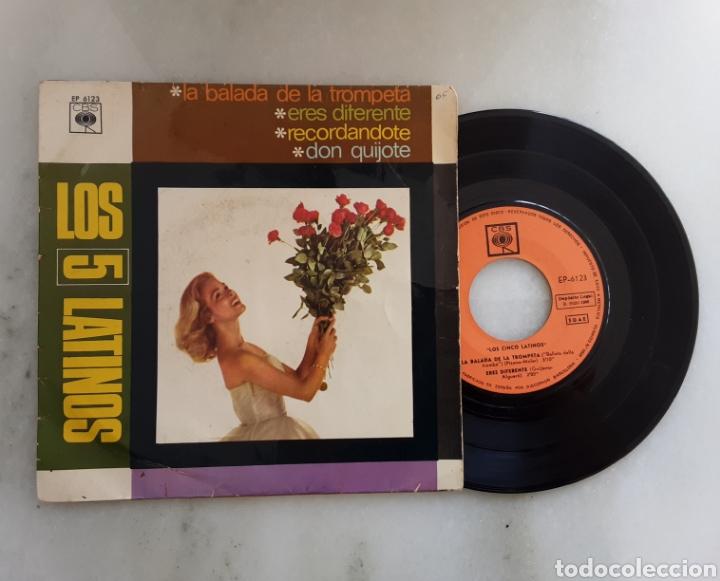 LOS CINCO LATINOS EP LA BALADA DE LA TROMPETA +3 (Música - Discos de Vinilo - EPs - Pop - Rock Internacional de los 50 y 60)