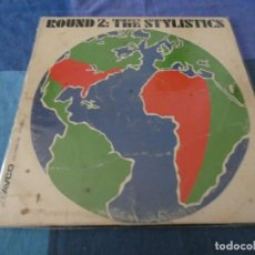 Discos de vinilo: LP FUNK SOUL USA 1972 THE STYLISTICS ROUND 2, BASTANTE TUTE, FRITURILLA, AUN AUDIBLE. Lote 212242490