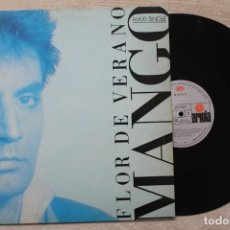 Discos de vinilo: MANGO FLOR DE VERANO MAXI SINGLE VINYL MADE IN SPAIN 1987. Lote 199091086
