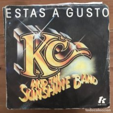 Discos de vinilo: KC & THE SUNSHINE BAND - DO YA FEEL ALL RIGHT - SINGLE EPIC SPAIN 1978. Lote 199095605