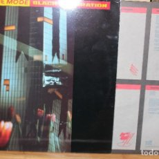 Discos de vinilo: DEPECHE MODE / BLACK CELEBRATION / 1986 MUTE RECORDS STUMM 26 INDUSTRIAL, SYNTH-POP LETRA CANCIONES. Lote 199101216