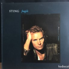 Discos de vinilo: STING - FRAGILE (MAXI) (A&M RECORDS) 390 307-1 (D:NM). Lote 199106888