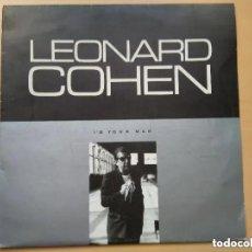 Discos de vinilo: LEONARD COHEN - I´M YOUR MAN (LP) 1989 EDICION CHECOSLOVACA. Lote 199113470