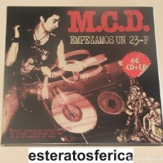 Discos de vinilo: MCD - EMPEZAMOS UN 23-F - VINILO + CD - DDT. Lote 199128023