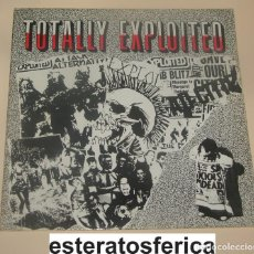 Discos de vinilo: THE EXPLOITED - TOTALLY EXPLOITED - 1984 BLASHADABEE RECORDS. Lote 199129457