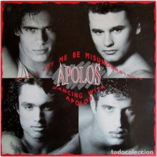 Discos de vinilo: APOLOS - DON'T LET ME BE MISUNDERSTOOD - MAXI-SINGLE 1991. Lote 199131895