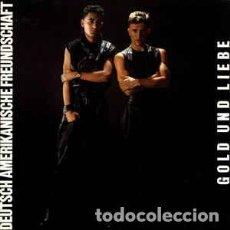 Discos de vinilo: DEUTSCH AMERIKANISCHE FREUNDSCHAFT, GOLD UND LIEBE, LP VIRGIN SPAIN 1982. Lote 199142526