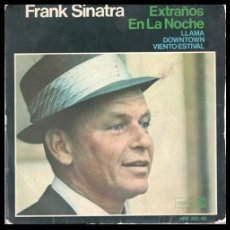 Discos de vinil: XX VINILO, FRANK SINATRA, EXTRAÑOS EN LA NOCHE, LLAMA, DOWNTOWN Y VIENTO ESTIVAL.. Lote 199142625