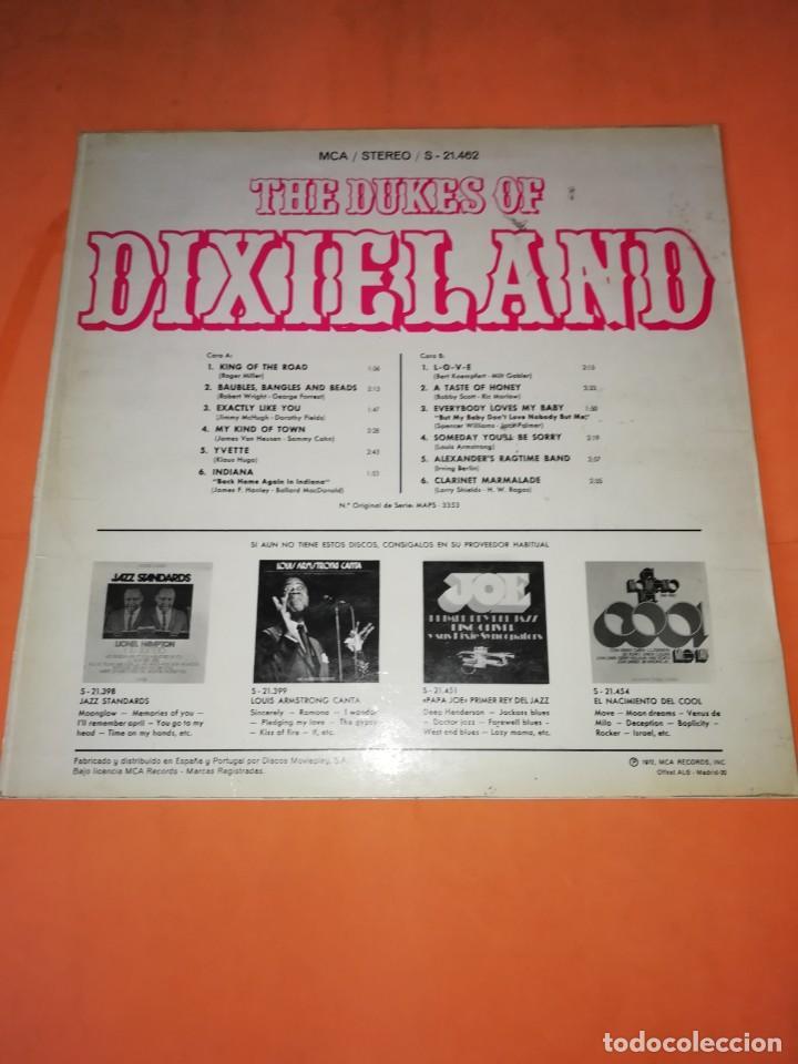 Discos de vinilo: THE DUKES OF DIXIELAND. 1972 MCA RECORDS - Foto 2 - 199146688