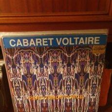 Discos de vinilo: CABARET VOLTAIRE / PERCUSSION FORCE / LES DISQUES DU CREPUSCULE 1991. Lote 199149108