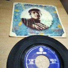 Discos de vinilo: MIGUEL RIOS - EL RIO / VUELVO A GRANADA - SINGLE 1968. Lote 199150567