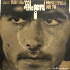 Discos de vinilo: JOAN MANUEL SERRAT, EP MARE LOLA. Lote 199152255