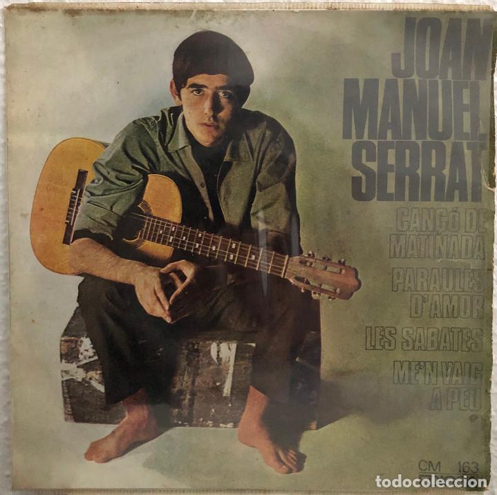 JOAN MANUEL SERRAT, EP PARAULES D'AMOR (Música - Discos de Vinilo - EPs - Cantautores Españoles)